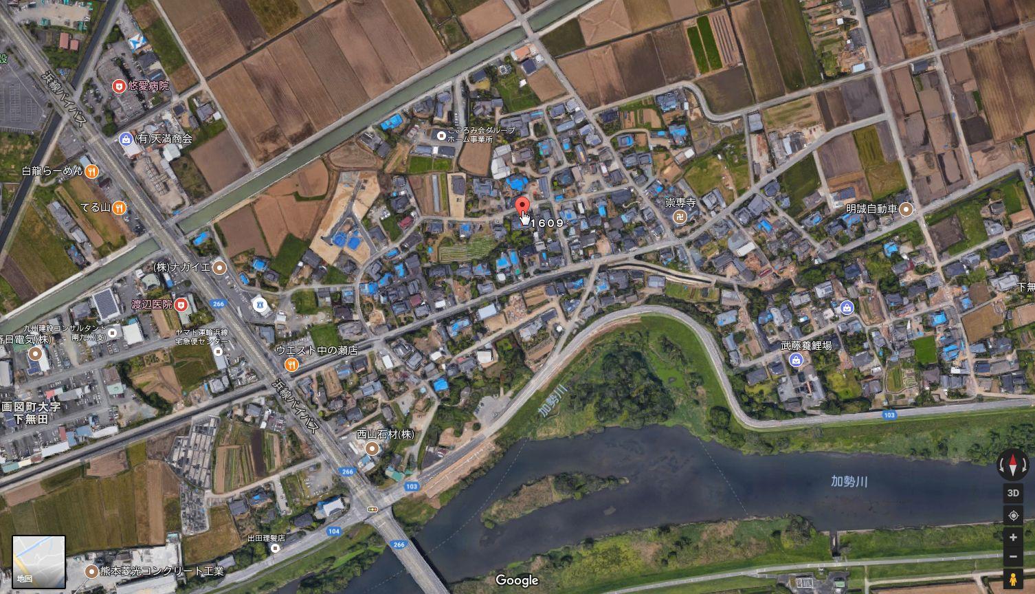 土地の写真GoogleMAP